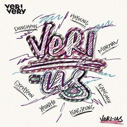 Amazon com: VERIVERY - [Veri-Us] 1st Mini Album DIY Limited