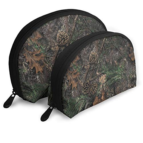 LSJGG TrueTimber Mixed Pine Camo Portable Bags Clutch Pouch Storage Bags -