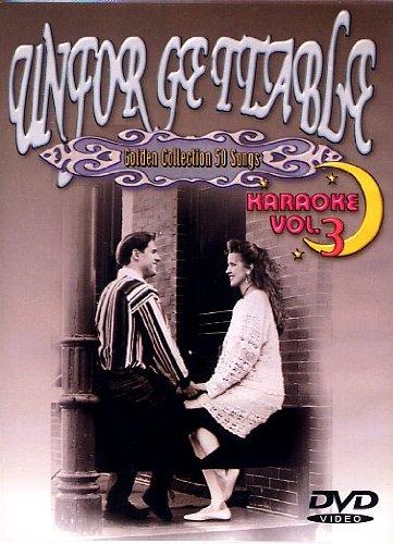Unforgettable - Volume 3 - Karaoke DVD With 50 Hit Songs- Cover (Vol 3 Karaoke Dvd)