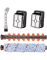 Compatible with Bissell CrossWave Vacuum Cleaner 1785/2306 Series (Combo Pack) Multi Surface Brush Roll 1868, Area Rug Brush Roll 1934 & Vacuum Filter 1866. Replaces Part #1608683, 160-8683, 1608684