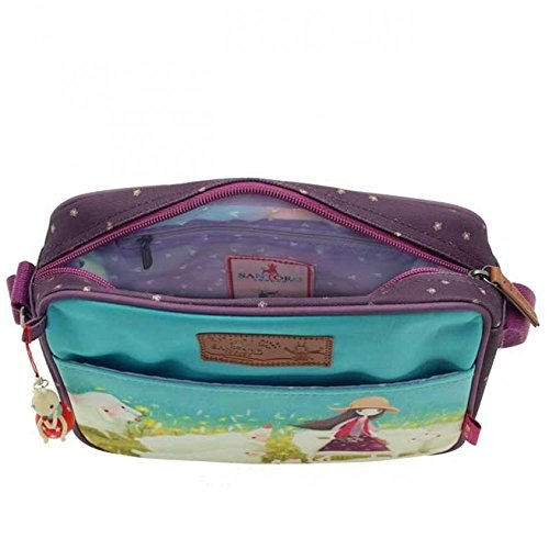 Santoro Kori Kumi Buttercup Meadow Small Flight Bag