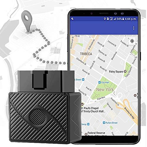 XuBa Dispositif de Suivi en Temps r/éel de v/éhicule de traqueur dOBD II GPS pour Le localisateur de Camion de Voiture