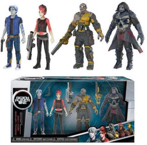 Funko Action Figure: Ready Player One-Parzival, Aech, Art3mis, i-R0k Collectible Toy