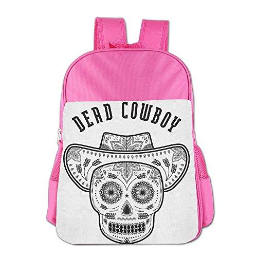 16.23oz Children Leather Lunch Bag Individual Dead Cowboy