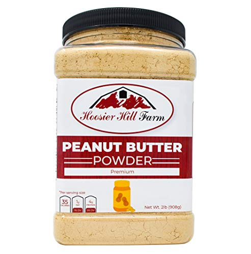 (Hoosier Hill Farm Peanut Butter Powder, 2 Lbs., Non-GMO, Made in USA )