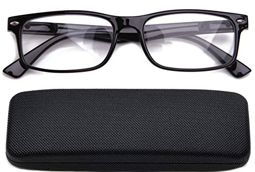 Fashion Clear Lens Eyeglass Frame Rectanglar Frame Unisex Glasses Frame Clear Lens Glasses ()
