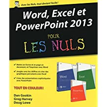 Word, Excel, PowerPoint 2013 pour les Nuls (French Edition)
