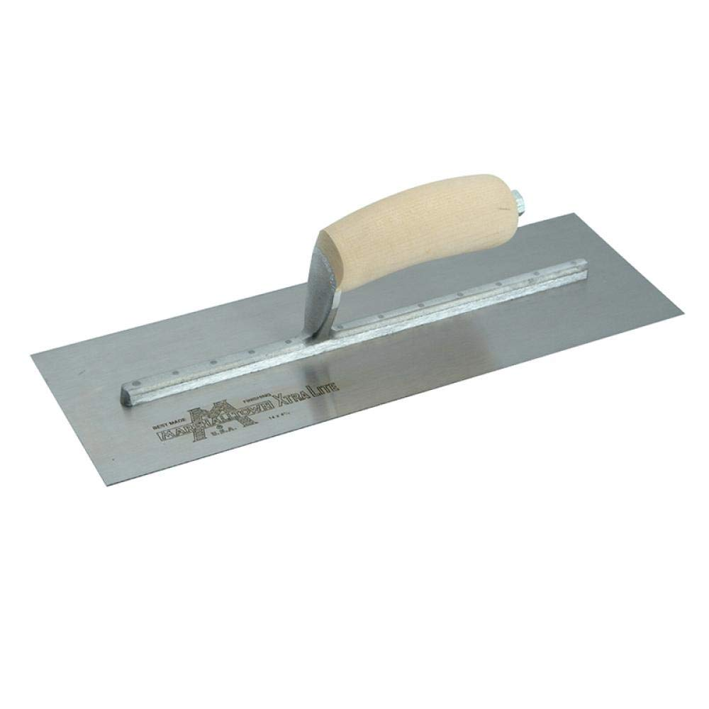Concrete Finishing Trowel 14 X 4 Curved Wood Handle
