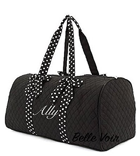 Embroidered Duffle Bags - Belle Voir Quilted Duffel Bag available