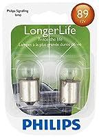 Philips 89LLB2 89 LongerLife Miniature Bulb, 2 Pack
