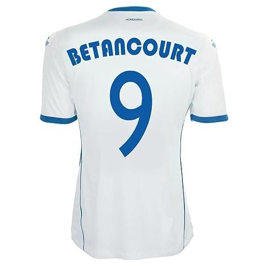 Amazon.com: Joma Betancourt #9 Honduras Home Jersey World Cup 2014 ...