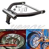 HongK- Right Side Drive RSD Fat Wide Tire Swingarm Kit 280 300 Tire Evo Harley Softail