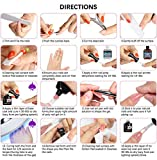Morovan Poly Nail Extension Gel Kit 02,with 8 Pcs