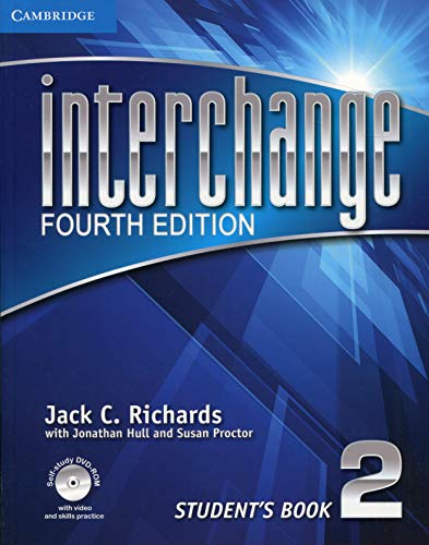 Interchange Level 2 Student's Book with Self-study DVD-ROM (Interchange Fourth Edition) (4th Edition Interchange)