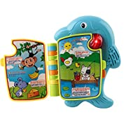 Memtes Baby Dolphin Learning & Music Book (English and Spanish)