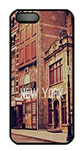 iPhone 5s Cases & Covers - New York Custom PC Soft Case Cover Protector for iPhone 5s - Black
