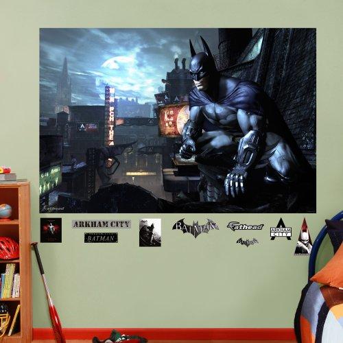 FATHEAD Batman Arkham City Mural Graphic Wall Décor