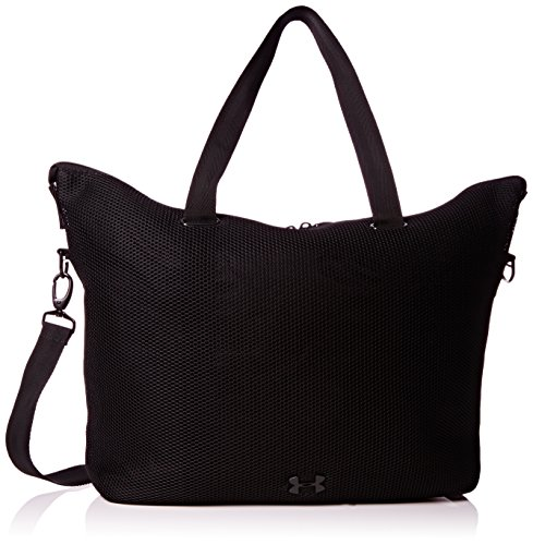 Black Armour Women's On the UA Tote Bags Run Under zq87wxdz