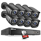 ANNKE 1080P CCTV Camera Systems 8+2 Channel H.264+ DVR and (8) 1920TVL 2.0MP FHD Weatherproof Bullet Cameras, 2TB Surveillance Hard Drive, Email Alert with Snapshots Review