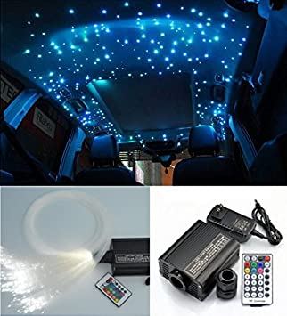 car roof ceiling fiber optic light kit star decorations lighting