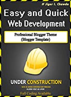 Professional Blogger Template: Free Blogger template Front Cover