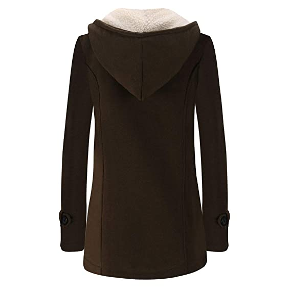 Rovinci☆ Abrigos para Mujer Cálido Manga Larga Jersey Blusa Chaquetas con Capucha Prendas de Abrigo largas Abrigo: Amazon.es: Ropa y accesorios