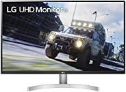 "LG 32UN500-W UHD Monitor 31.5"" VA UHD 60Hz 4ms AMD FreeSync DP,"