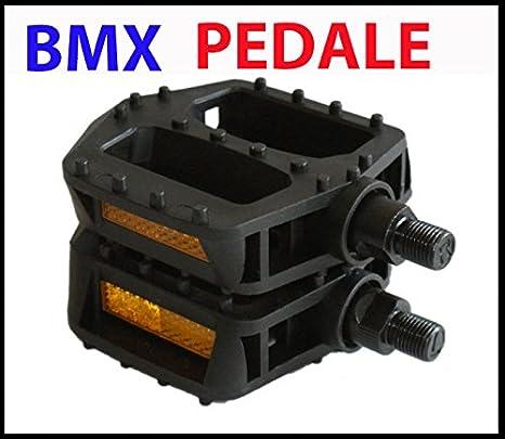 "Pedale BMX 1//2/"" Alu Rahmen Aluminium silber Fahrrad"