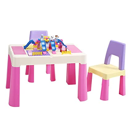 Juegos de mesas y sillas Bloque de construcción para niños ...