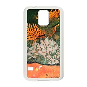 The Amazing Coral Hight Quality Plastic Case for Samsung Galaxy S5
