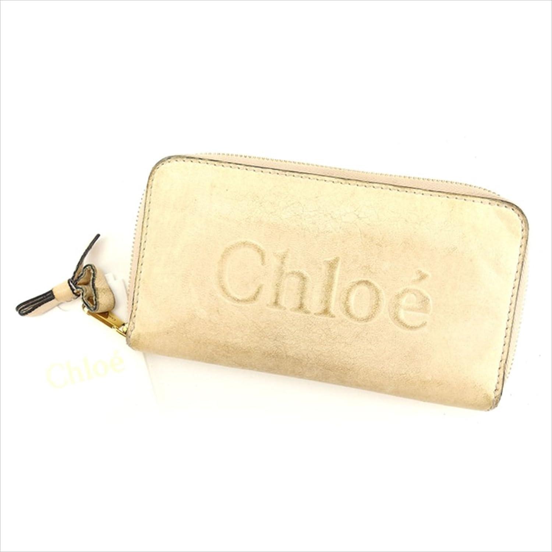 クロエ Chloe ラウンドファスナー財布 長財布 ユニセックス SHADOW 中古 B827 B071D8QFG7