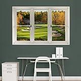Fathead 69-00346 Wall Decal, Fall Golf Scenic Window