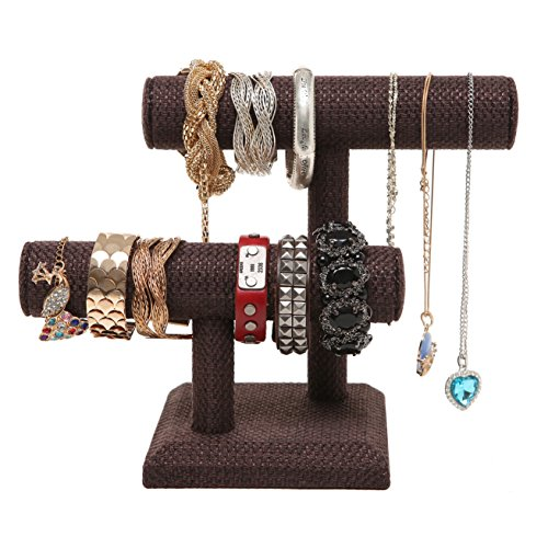 Brown Designer Bracelet Jewelry Display