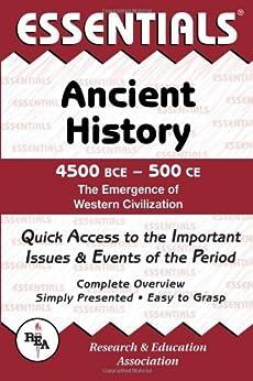 Amazon.com: Ancient History: 4500 BCE to 500 CE Essentials