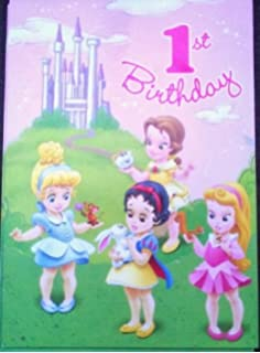 disney princess 1st birthday invitations Josemulinohouseco