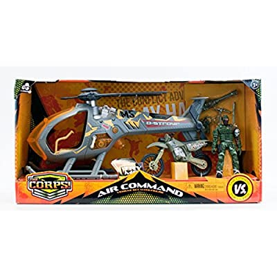 Total Soldier Storm Strike Helicopter: Toys & Games