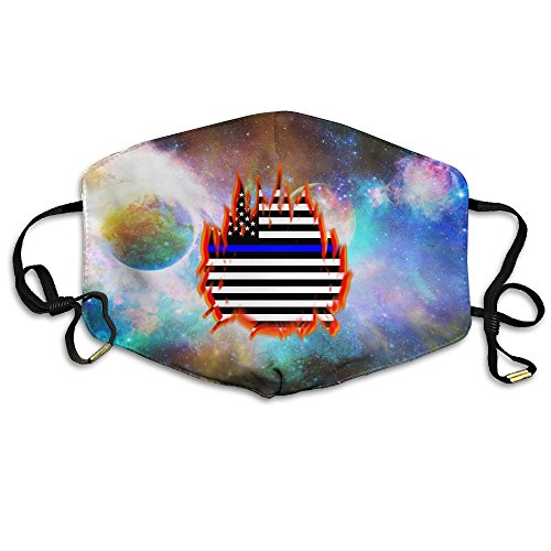 Thin Blue Line Proud Fire Unisex Anti Dust Face Mouth Mask For - Ban Israel