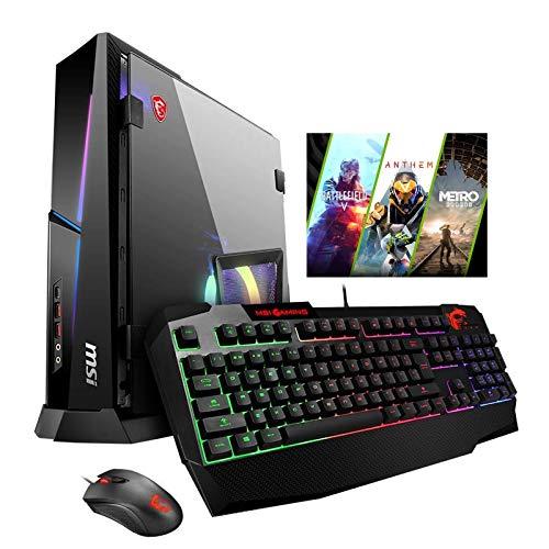 MSI Trident X Plus 9SE-062US Pro Extreme (i9-9900K, 32GB RAM, 1TB NVMe SSD + 2TB HDD, NVIDIA RTX 2080 8GB, Windows 10) Gaming Desktop
