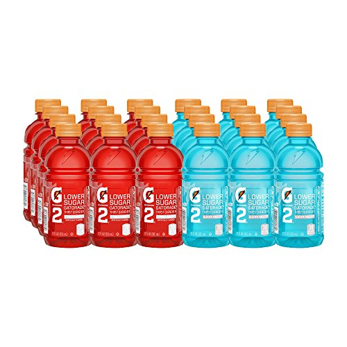 Gatorade Thirst Quencher, G2 Glacier Freeze and G2 Fruit Punch, 12 Ounce...