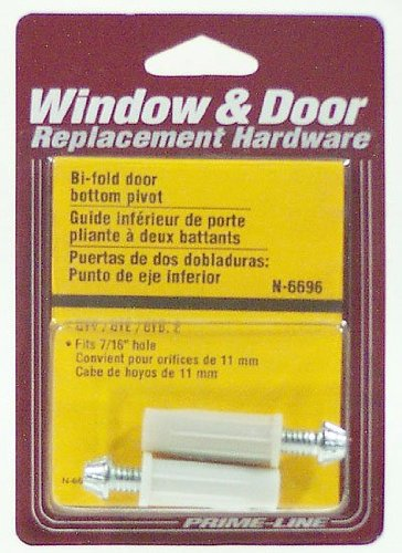 Prime-Line Products N 6696 Bi-Fold Door Bottom Pivot,(Pack of 2)