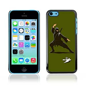 Lmf DIY phone case [Funny Ninja Illustration] Apple iPhone 5C CaseLmf DIY phone case