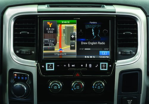 Alpine Electronics X009-RAM 9'' Restyle Dash System for Select Ram 1500, 2500 & 3500 Trucks by Alpine (Image #3)