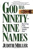 God Has Ninety-Nine Names, Judith Miller, 0684832283