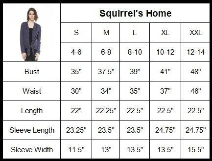 Squirrel's Home SWEATER レディース