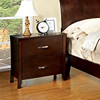 247SHOPATHOME Idf-7600N, nightstand, Cherry