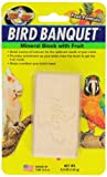 Zoo Med Mineral Block with Fruit Banquet Bird Food, 5 oz