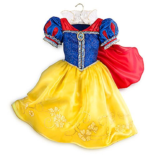 Seven Dwarfs Fancy Dress Costumes (Disney Store Snow White Costume Dress ~ Size 11/12)