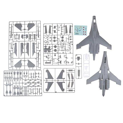 Perfk プラスチック 1/48スケール 未組立 戦闘機モデル 航空機モデル 子供 ギフトの商品画像