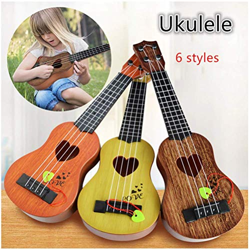 mrGood 44cm Mini Ukulele Simulation Guitar Baby Kids Musical Instruments Toy Music Education Development Birthday Gifts for Kids