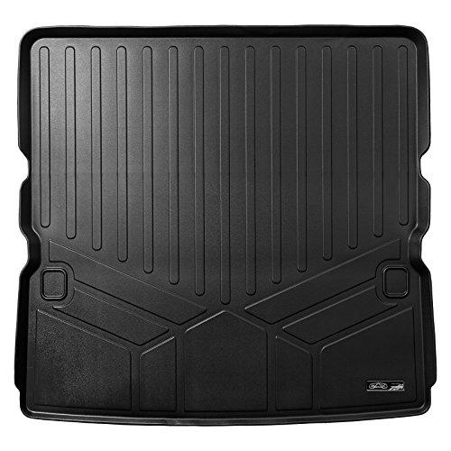 - MAX LINER D0242 Cargo Trunk Liner Floor Mat Behind 2nd Row Black for 2017-2019 Nissan Armada / 11-13 Infiniti QX56 / 2014-19 QX80